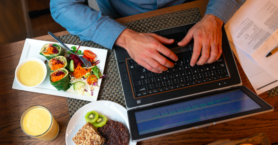 How to make your diet work when you're working from home